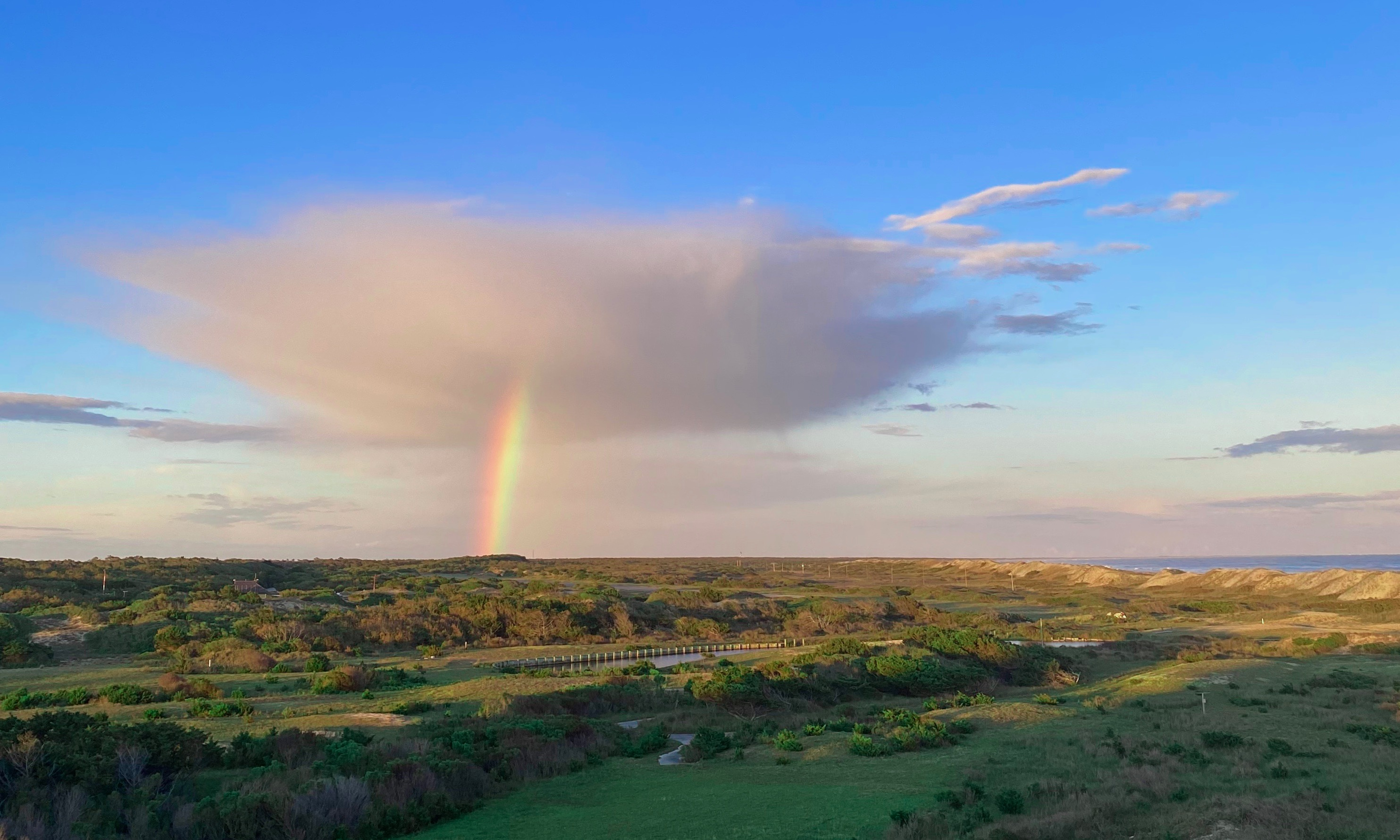 Rainbow over Cape Hatteras National Seashore