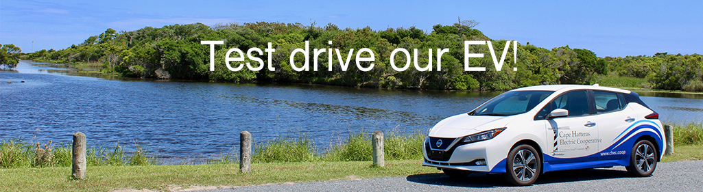 Test drive our Nissan Leaf